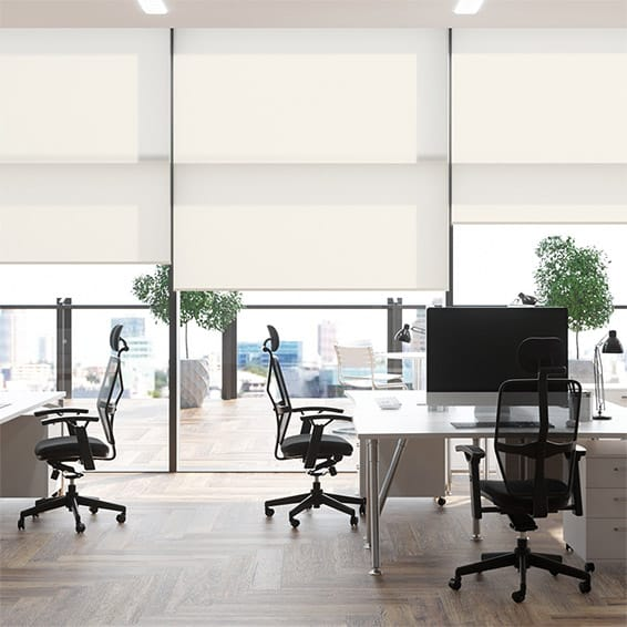 Contract City Chalk Roller Blind