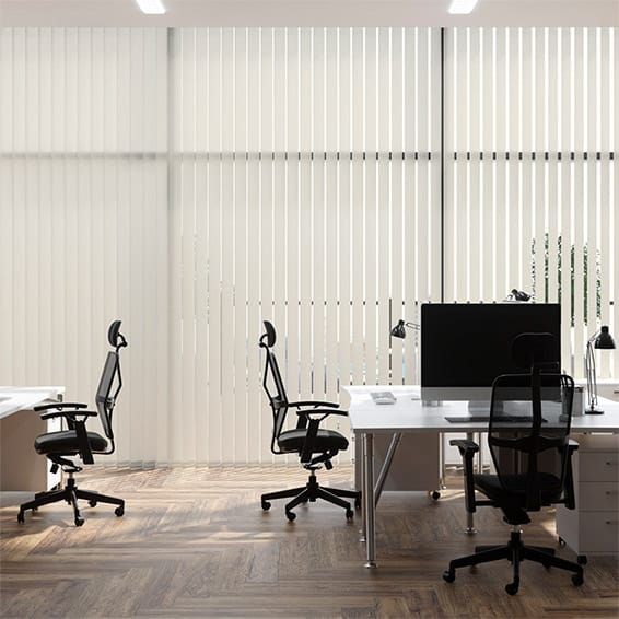 Contract City Chalk Vertical Blind