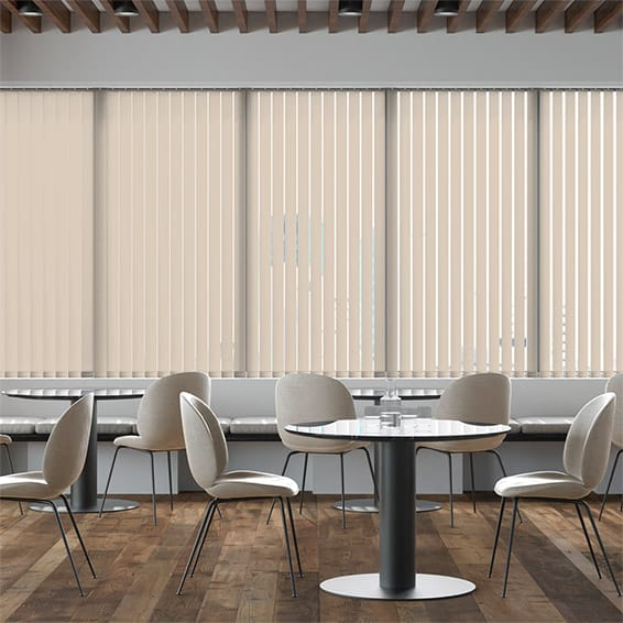 Contract City Champagne Vertical Blind