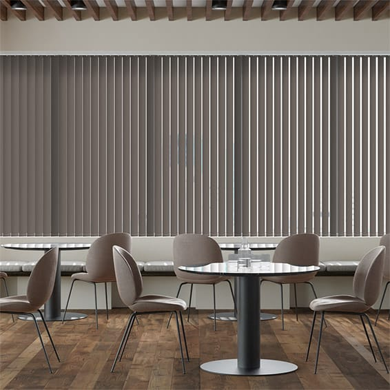 Contract City Chic Grey Vertical Blind