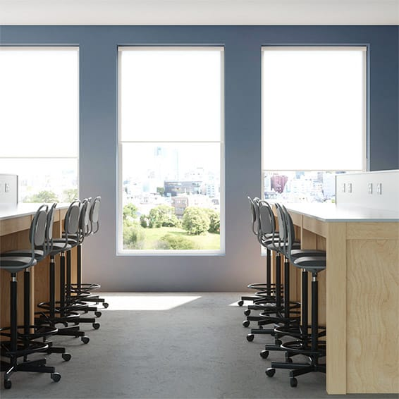 Contract City Classic White Roller Blind