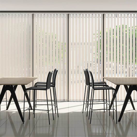 Contract City Ivory Vertical Blind