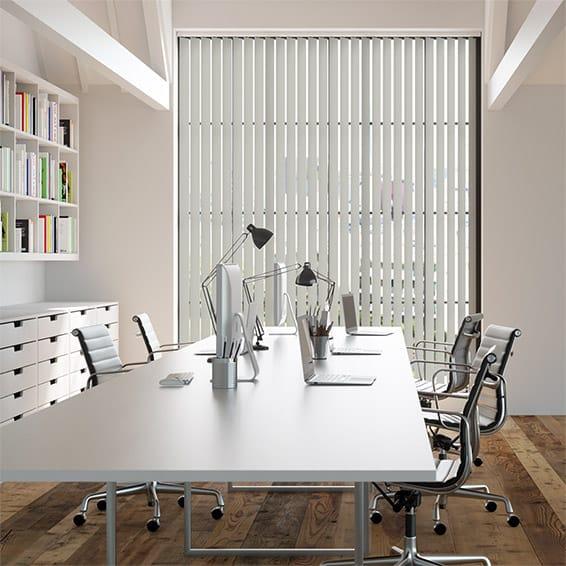 Contract Metropolis PVC Cool Grey Vertical Blind