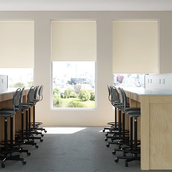 Contract Metropolis PVC Blackout Taupe Roller Blind