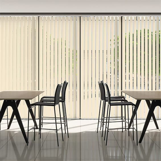 Contract Metropolis PVC Taupe Vertical Blind
