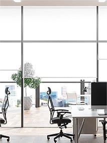 Contract Oculus Bright White Roller Blind thumbnail image
