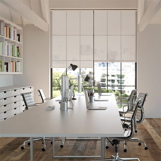 Contract Oculus City Grey Roller Blind