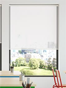 Contract Oculus Ice White Roller Blind thumbnail image