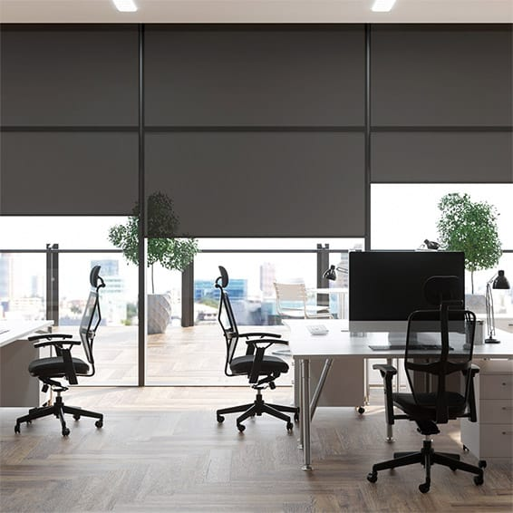 Contract Oculus Midnight Roller Blind