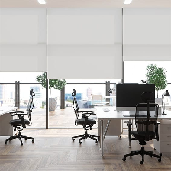 Contract Thermal Plus Misty Grey Roller Blind