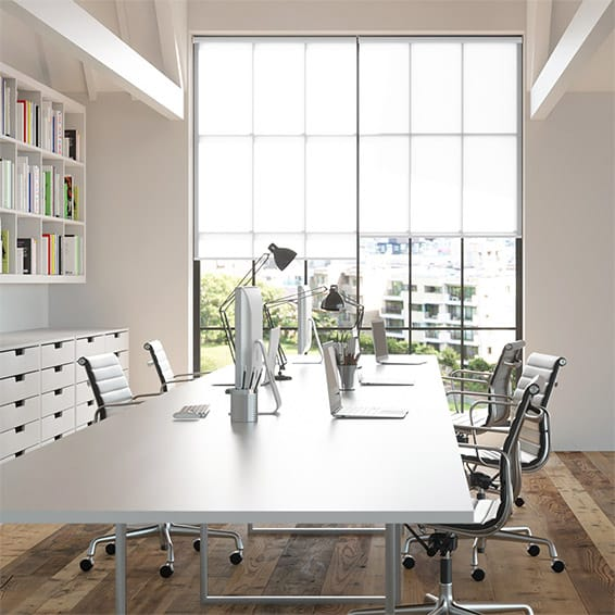 Contract Thermal Plus White Roller Blind