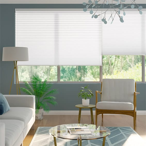 DuoLight-Max Cordless Cotton White Thermal Blind