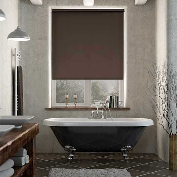 Cordoba Blackout Italian Roast Roller Blind