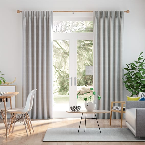 Cotswold Soft Grey Curtains