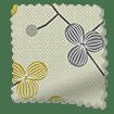Country Blossom Linen Lemon Tart Curtains sample image