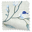 Country Flower Embroidered Cornflower swatch image