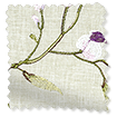 Country Flower Embroidered Plum swatch image