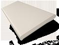 Crème Wooden Blind - 50mm Slat  sample image