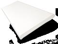 Crisp White Faux Wood Blind - 50mm Slat sample image