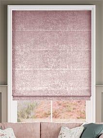 Crushed Velvet Rose Quartz Roman Blind thumbnail image