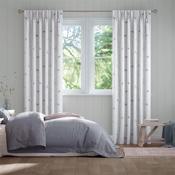 Dawn Chorus Heather Curtains