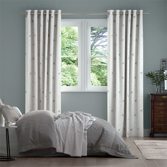 Dawn Chorus Ivory Curtains