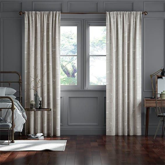 Dawn Chorus Linen Curtains