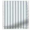 Devon Stripe Ocean Blue Curtains slat image