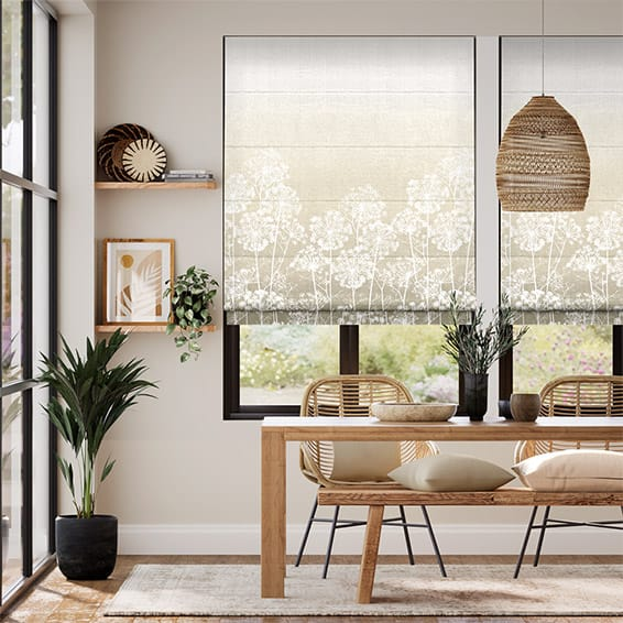 Dill Pebble Roman Blind