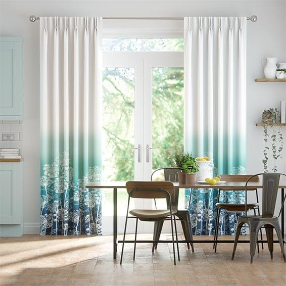 Dill Teal Curtains