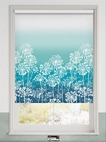 Dill Teal Roller Blind thumbnail image