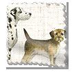 Dogs Multi Curtains slat image