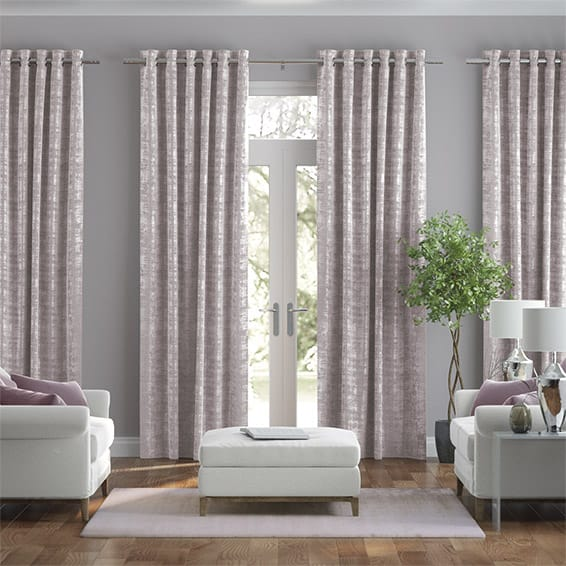 Dorchester Velvet Lilac Curtains