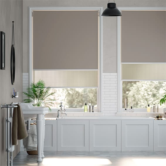 Double Roller Pebble Blind