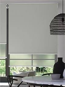 Double Roller Smoke Double Roller Blind thumbnail image