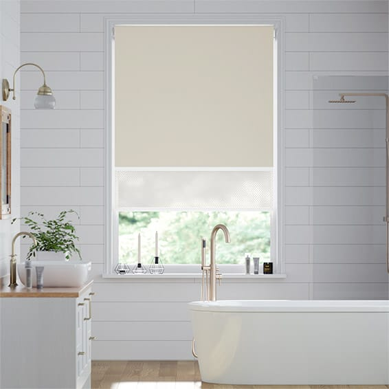 Double Roller Toffee Blind