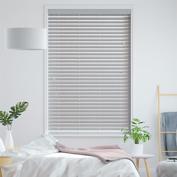 Dove Suave Faux Wood Blind - 50mm Slat