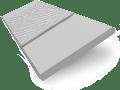 Dove Suave & Quicksilver Faux Wood Blind - 50mm Slat slat image