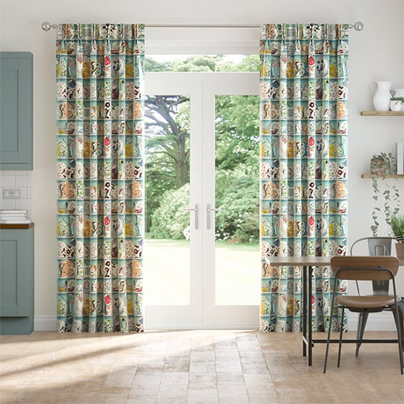 Dresser Duck Egg Curtains