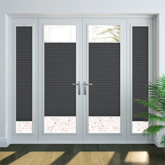 PerfectFIT DuoLight Anthracite Thermal Blind