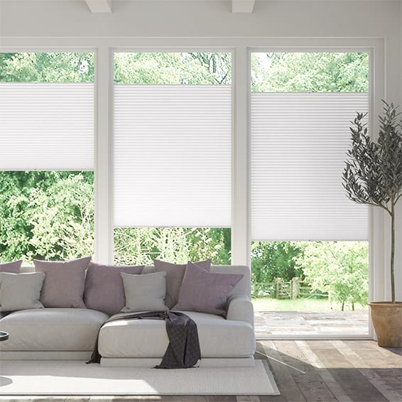 PerfectFit DuoLight Arctic White  Thermal Blind