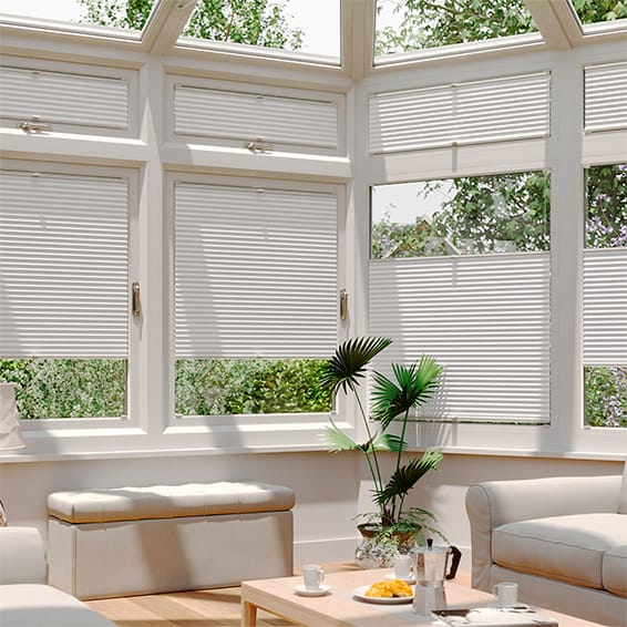 DuoLight Ash Grey  EasiFIT Thermal Blind