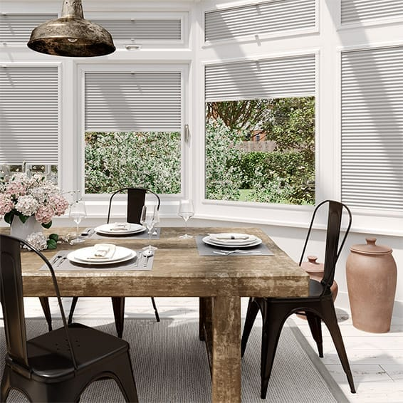 PerfectFIT DuoLight Ash Grey Thermal Blind