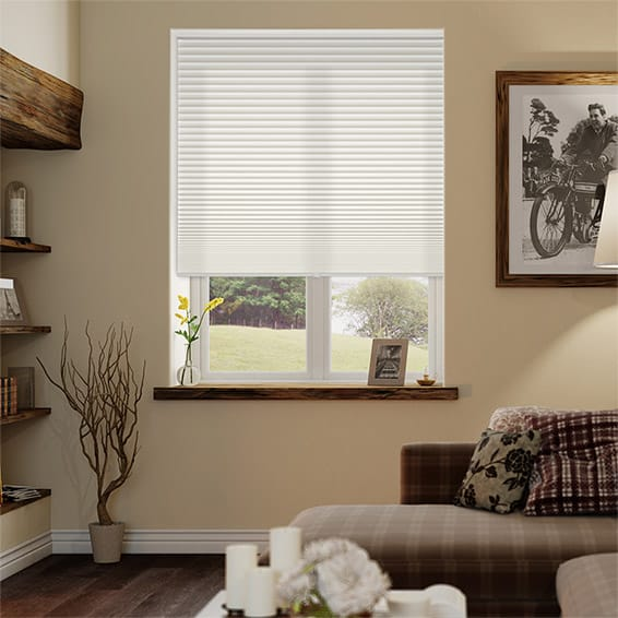 DuoLight Cordless Cotton Thermal Blind