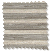 DuoLight Cordless Grain Fossil Grey Thermal Blind slat image