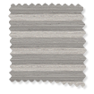 DuoLight Cordless Grain Urban Grey Thermal Blind slat image