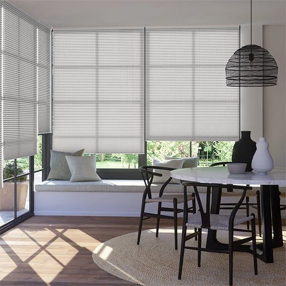 DuoLight Cordless Mosaic Cool Grey Thermal Blind