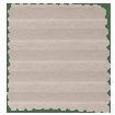 DuoLight Cordless Mushroom  Thermal Blind slat image