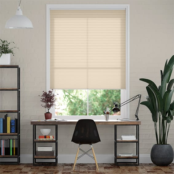DuoLight Cordless Wheat  Thermal Blind