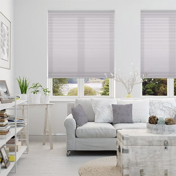 DuoLight Cordless Wisteria Thermal Blind